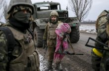Per susirėmimus su prorusiškais separatistais žuvo 4 Ukrainos kariai
