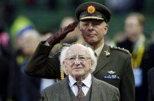 Lietuvoje lankysis Airijos prezidentas