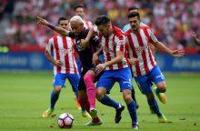 """Penkis įvarčius įmušusi """"Barcelona"""" tapo Ispanijos pirmenybių lydere"""