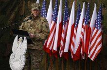 Lietuvoje lankysis JAV sausumos pajėgų Europoje vadas