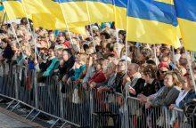 Šiltus jausmus Lietuvai jaučia pusė ukrainiečių, Rusijai – 19 proc.