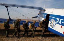 NATO naikintuvai palydėjo žvalgybinį rusų lėktuvą