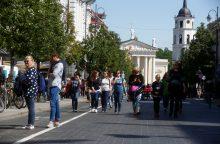 """Vilniuje liepą surinkta 140 tūkst. eurų """"pagalvės"""" mokesčio"""
