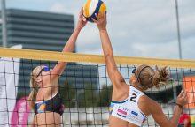 Paplūdimio tinklinio čempionate – dramatiškos finalų kovos