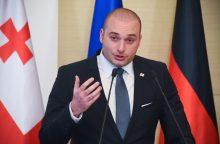 Lietuvoje lankysis Gruzijos premjeras