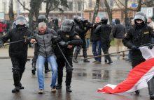 L. Linkevičius: numalšinti protestai Baltarusijai nebus į naudą
