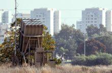 Iš Gazos Ruožo paleista raketa smogė Izraelio miestui