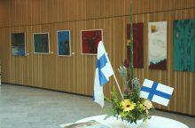 Suomijos menininkas pristato darbus Vilniuje