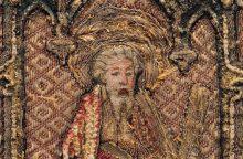 Parodoje – unikalūs Lietuvos liturginės tekstilės lobiai