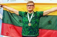 A. Klemui – Europos tekvondo čempionato bronza