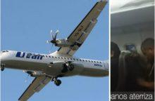 Nemenkas išgąstis Peru sirgaliams: į lėktuvo saloną ėmė veržtis dūmai