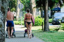 Tropinį karštį į Lietuvą atlydės škvalas ir kruša