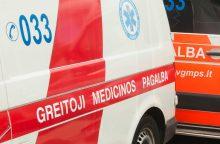 Trijų automobilių susidūrimą Trakų rajone sukėlė girta vairuotoja
