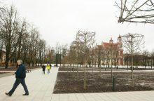Lukiškių aikštėje – vėl aliarmas dėl sprogmenų