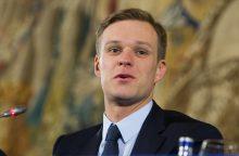 """G. Landsbergis: """"valstiečių"""" partijoje vyksta desperatiškas blaškymasis"""
