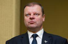 """S. Skvernelis nėra tikras, kad pasirašys susitarimą dėl """"Rail Baltica"""""""