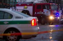 Vilniuje užsiliepsnojus šaudyklai evakuota 40 žmonių <span style=color:red;>(atnaujinta)</span>