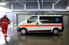 Vilniuje per avariją nukentėjo vaikas