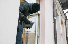 Vagys ištuštino kaunietės namą: nuostolis – 30 tūkst. eurų