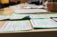 Tyrime dėl rinkimų dokumentų klastojimo apklaustas komisijos narys