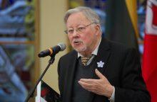 V. Landsbergis: reikia nereaguoti į tokį brutalų Rusijos kišimąsi