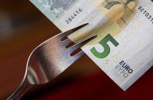 Trišalė taryba spręs, ar didinti MMA iki 400 eurų
