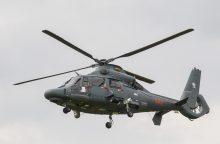 Karinių sraigtasparnių remontas Rusijoje neužkliuvo aukštiems pareigūnams