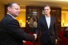 Premjeras sulaukė klausimų dėl G. Landsbergio šeimos verslo