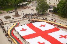 Lietuva siunčia sveikinimus Nepriklausomybės dieną švenčiančiai Gruzijai