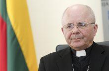 Kauno arkivyskupas S. Tamkevičius taps garbės šauliu