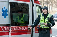 Per avariją Panevėžyje nukentėjo vaikas