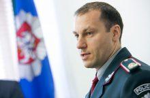 L. Pernavui už baigtą policijos reformą balą rašys ministras
