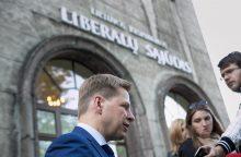 Liberalų sąjūdžiui sulaukus įtarimų, partiją paliko 20 narių