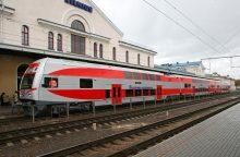 Iš Vilniaus į Minską pradeda kursuoti elektriniai traukiniai