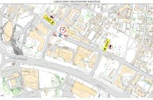 Dėl nuotekų tinklų tvarkymo darbų Lvovo gatvėje bus eismo ribojimų