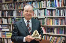 VU profesoriui – archeologijos Nobeliui prilygstantis apdovanojimas