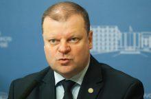 """Premjeras: reformos bus finansuojamos pinigais iš """"šešėlio"""""""