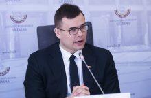 L. Kasčiūnas: siekiama apriboti ginklų įsigijimą lojaliems piliečiams