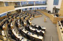 Seimas raginamas nepritarti nutarimui dėl valstybinės kalbos