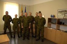 Lietuvos kariai ryšininkai išlydėti į operaciją Afganistane