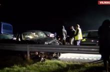 Kelyje Vilnius-Panevėžys žuvo žmogus, dar trys – sužeisti