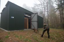 Už ES lėšas pasieniečiai pirko tarnybinių šunų ir atnaujino dresavimo bazę
