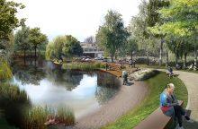 Šnipiškės pasikeis neatpažįstamai – atsiras Senvagės parkas