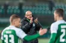 Futbolo rinktinės tikslas – nepralaimėti Liuksemburgui
