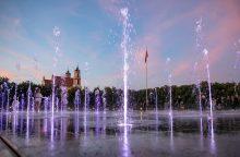 Vilnius turi vienintelį pasaulyje fontaną, kuriam galima diriguoti