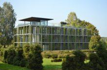 VU Botanikos sode – unikalus Lietuvoje žaliasis pastatas