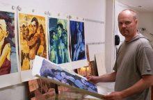 Dailininkas V. Marcinkevičius: temų kaita skatina augti
