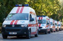 Ministerija nupirko 61 greitosios pagalbos automobilį