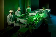 Lietuvos lazerių specialistai kuria galingiausią pasaulyje lazerį