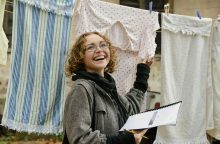 Kompozitorės E. Medekšaitės kūryba – persmelkta tekstilės ir indų ragų